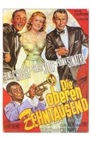 High Society - German Wall Poster