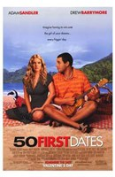 50 First Dates Wall Poster