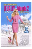 Legally Blonde 2: Red  White Blonde Wall Poster