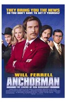 Anchorman: the Legend of Ron Burgundy Wall Poster