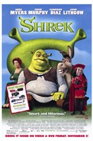 Shrek - Mike Myers Framed Print