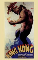 King Kong, c.1933 Wall Poster