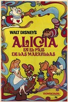Alice in Wonderland (spanish) Wall Poster