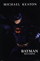 Batman Returns Michael Keaton Wall Poster