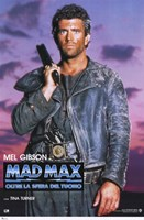 Mad Max Beyond Thunderdome Italian Framed Print