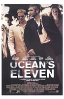 Ocean's Eleven - walking Wall Poster