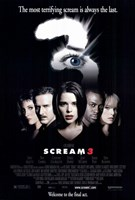 Scream 3 Framed Print