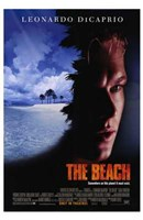 The Beach Leonardo DiCaprio Wall Poster