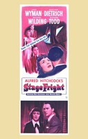 Stage Fright Dietrich & Wyman Wall Poster