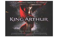 King Arthur Rule Your Destiny Wall Poster