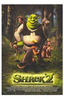 Shrek 2 Cast Wall Poster