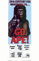 Planet of the Apes Go Ape! Wall Poster