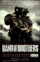 Band of Brothers World Depended on Them Wall Poster