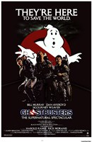 Ghostbusters They're Here Framed Print