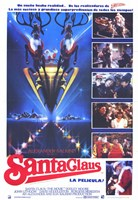 Santa Claus: the Movie Spanish Wall Poster