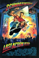 Last Action Hero Wall Poster