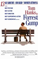 Forrest Gump Best Picture Framed Print