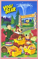 Yogi Bear - cartoon Fine Art Print