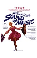 Sound of Music Singing Framed Print