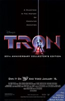 Tron DVD Wall Poster