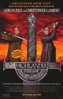 Highlander: Endgame Movie Wall Poster