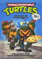 Teenage Mutant Ninja Turtles Original Cartoon Wall Poster