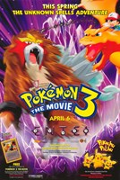 Pokemon 3: the Movie Framed Print