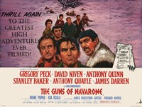 The Guns of Navarone - Thrill again Wall Poster