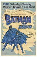 Batman and Robin Vintage Wall Poster