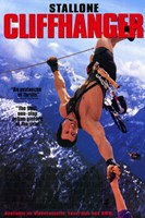 Cliffhanger Stallone Wall Poster