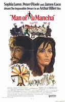 Man of La Mancha Sophia Loren Framed Print