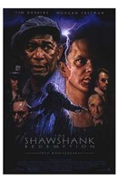 The Shawshank Redemption Lightning Framed Print