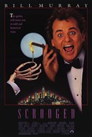 Scrooged Wall Poster