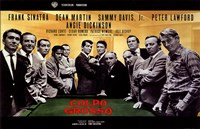 Oceans 11 Colpo Grosso Pool Table Framed Print