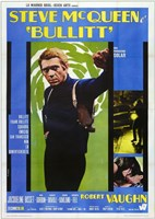 Bullitt (french) Wall Poster