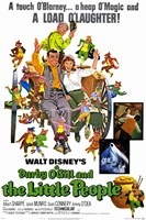 Darby O'gill and Little People Wall Poster