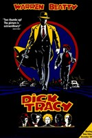 Dick Tracy Warren Beatty Framed Print