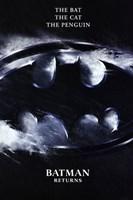 Batman Returns Logo Wall Poster