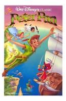 Peter Pan Captain Hook Wall Poster