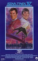Star Trek 4: The Voyage Home (Video Cassette Release) Wall Poster