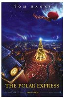 The Polar Express Santa Claus Wall Poster
