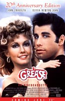 Grease 20th Anniversary on Videocassette Framed Print