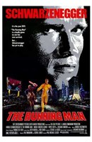 The Running Man Schwarzenegger Wall Poster