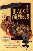 Black Orpheus Wall Poster