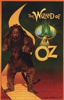 The Wizard of Oz Cowardly Lion Wall Poster
