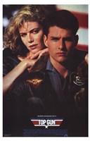 Top Gun America Framed Print