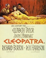Cleopatra, c.1963 - couple Framed Print