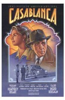 Casablanca Art Deco Framed Print