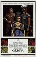 Cleopatra, c.1963 - scenes Framed Print