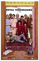 The Royal Tenenbaums - family photo Wall Poster